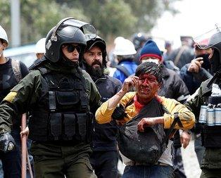Bolivya'da bu kez Morales destekçileri sokağa indi!