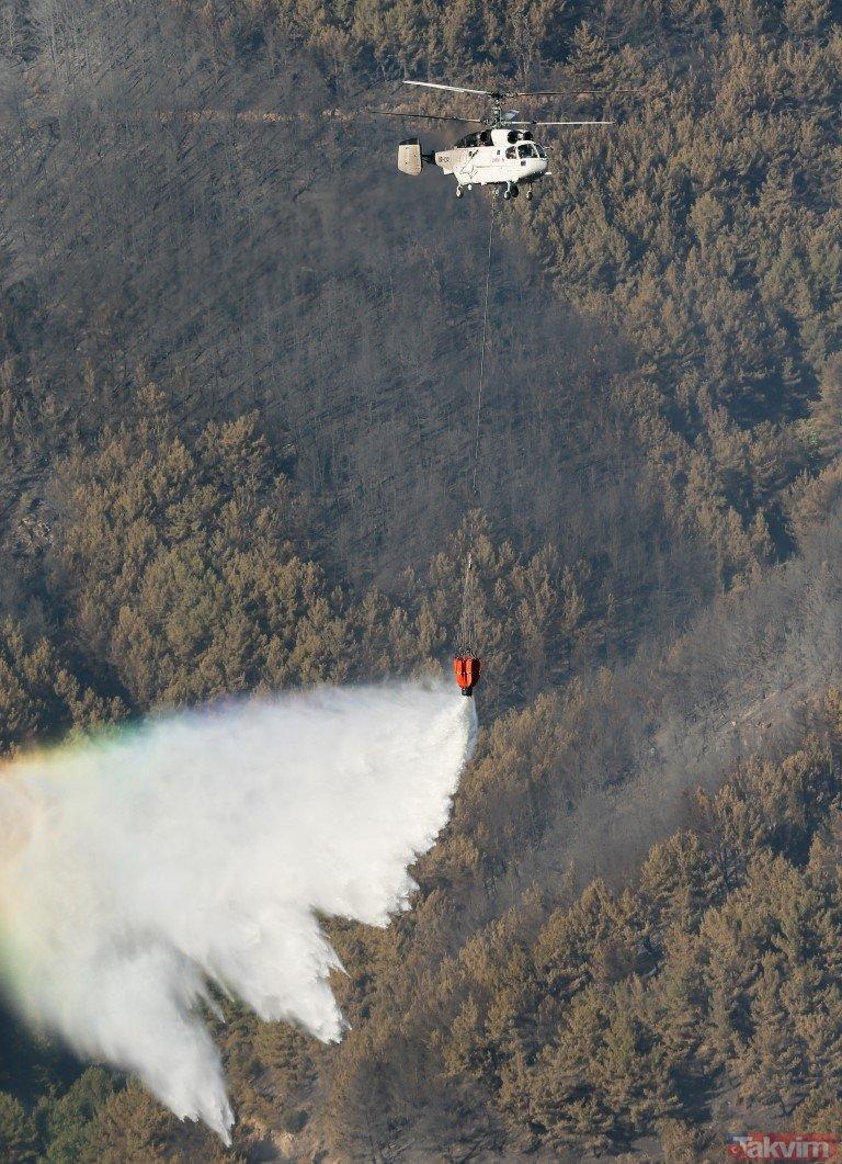 Orman yangınları ile ilgili oluşturulmak istenen algı operasyonuna belgeli yanıt! İşte iddialar ve gerçekler...