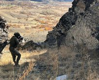 Hakkari'de PKK mühimmatı ele geçirildi