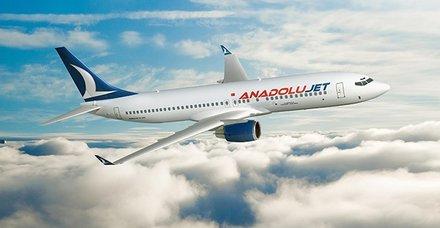 AnadoluJet'in yurt dışı uçuş noktaları belli oldu