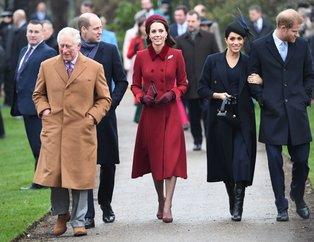 Kate Middleton ile Meghan Markle Noel kutlaması için yan yana geldiler