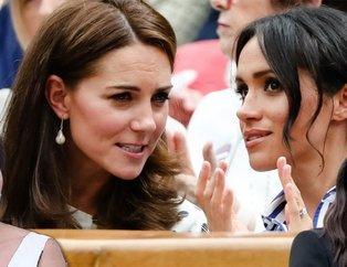 Meghan Markle ile Kate Middleton kavgasında kılıçlar çekildi 'Beni tehdit ediyor'