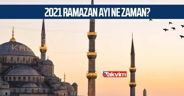 Ramazan orucu ne zaman 2021?