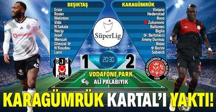 Karagümrük, Beşiktaş'ı yaktı!