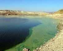 Gölün rengi yeşile dönmüştü! Nedeni belli oldu