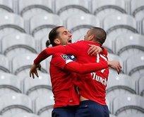 Lille, Türk yıldızlarıyla uçuşta! Asist Burak'tan gol Yusuf'tan