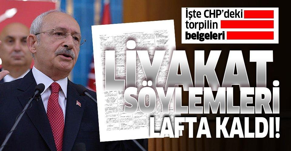 Kılıçdaroğlu'nun liyakat söylemleri lafta kaldı!