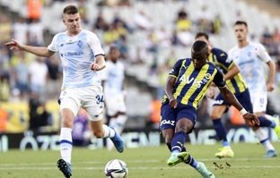 Fenerbahçe, Dinamo Kiev ile yenişemedi