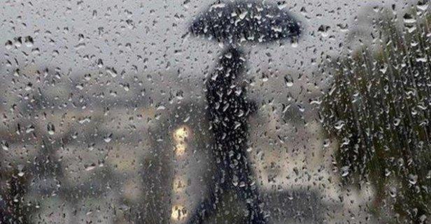 Dikkat! Hafta sonu yağış var