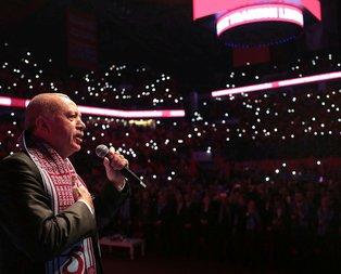 Başkan Erdoğan'dan Büyük Trabzonlular Buluşmasında açıklamalar
