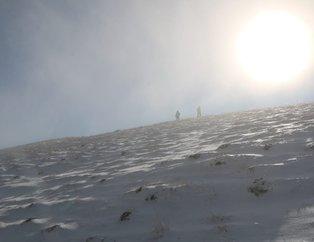 Nemrut Dağı'nda esrarengiz olay! Dağcılar gözlerine inanamadı
