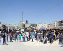 Babda terör örgütü PKK/PYD karşıtı gösteri