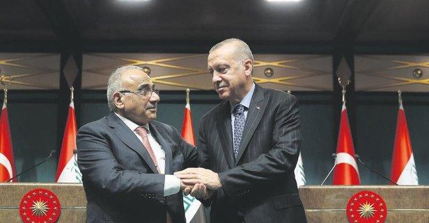 Irak ile askeri güvenlik anlaşması