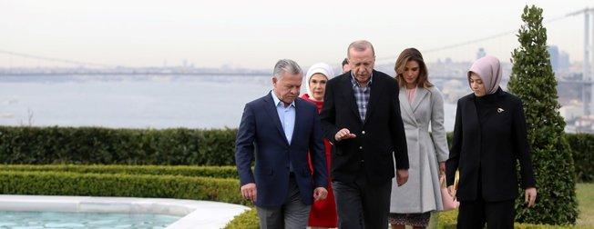 Başkan Erdoğan ile Ürdün Kralı II. Abdullah Vahdettin Köşkü'nde görüştü