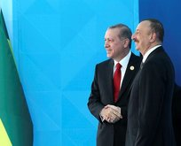 Aliyevden Cumhurbaşkanı Erdoğana kutlama