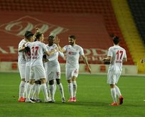 Sivasspor, Gaziantep'te tek golle kazandı