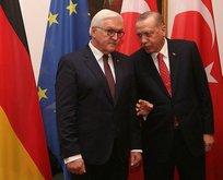 Erdoğandan Almanyada flaş açıklamalar