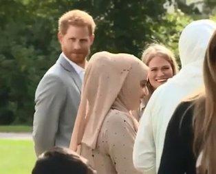 Meghan Markleın kitap tanıtımına Prens Harry damga vurdu
