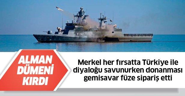 Almanya gemisavar füze sipariş etti