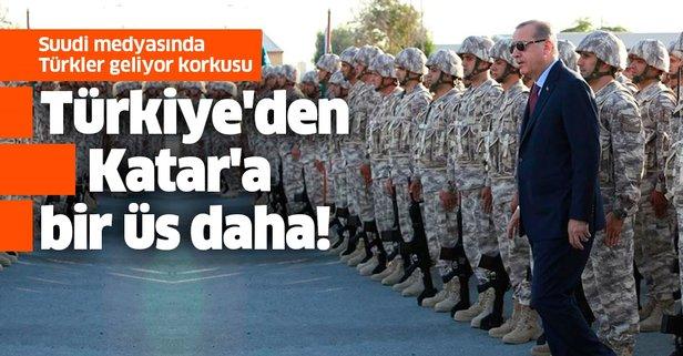 Türkiye'den Katar'a bir üs daha! Suudi Arabistan rahatsız oldu