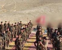Bebek katili PKK'nın Sincar'daki kampları görüntülendi