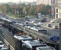 Metrobüs seferlerini aksatan arıza! İBBden açıklama