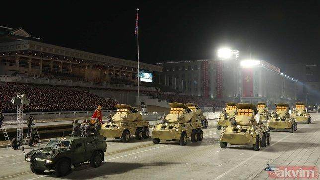 SON DAKİKA: Kuzey Kore dünyanın en güçlü silahını tanıttı