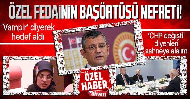 CHP'li Özgür Özel'in başörtüsü nefreti! Merve Kavakcı'nın kızı Fatma Gülham Abusahanab'a 'vampir' diyerek kin kustu - Takvim