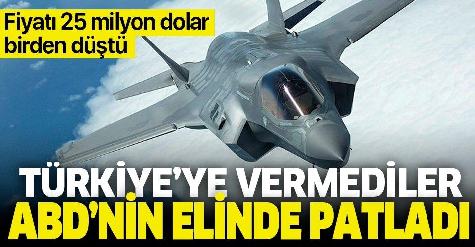 Türkiye'ye vermediler ellerinde patladı! F-35'lerin fiyatları 25 milyon dolar birden düştü