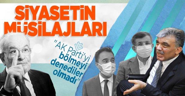 AK Parti'yi bölme görevi mi verildi?