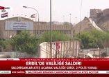 Erbil'deki saldırya ilişkin ilk görüntüler