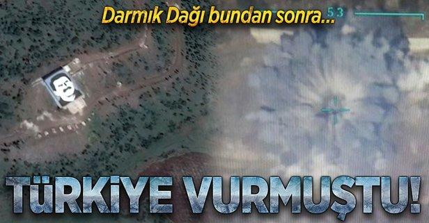 Afrin, Darmık Dağından vurulacak
