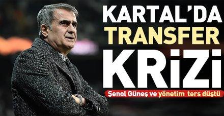 Beşiktaş'ta Medel çatlağı! Şenol Güneş Medel'in gitmesini istemiyor