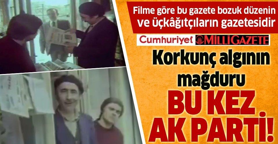 Korkunç algının mağduru bu kez AK Parti!
