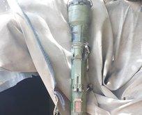 Pençe Harekâtı'nda SA-14 tipi füze ele geçirildi