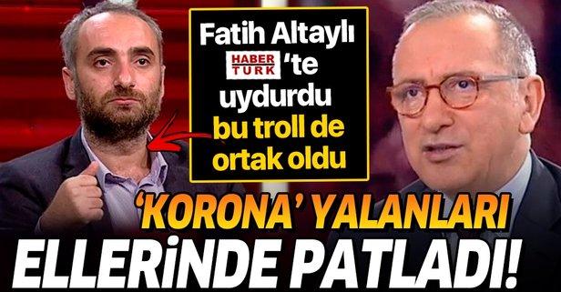 Fatih Altaylı'nın yalanı elinde patladı!