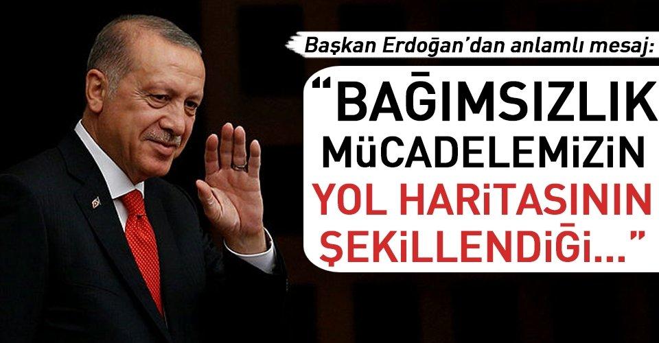 Erzurum mesajı