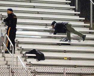 Lise maçında silahlı saldırı