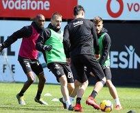 Rize'ye hazırlanan Beşiktaş pas çalıştı