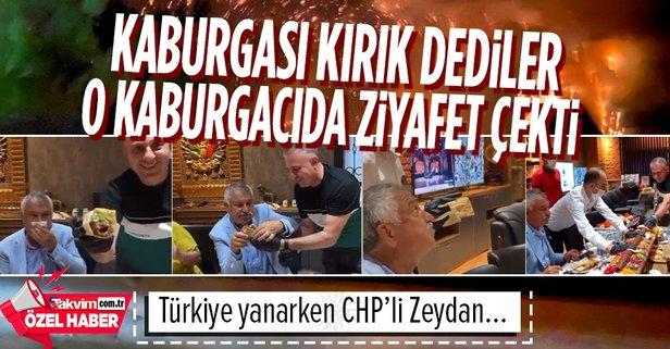 Büyük yalan! CHP'li Karalar kaburga ziyafetinde...