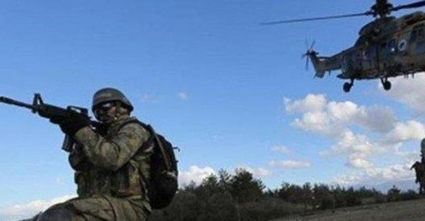 Beş PKK'lı öldürüldü