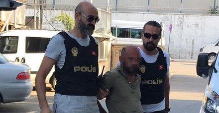 İzmirde çocuk tacizi şüphelisi bugün adliyeye sevk edildi