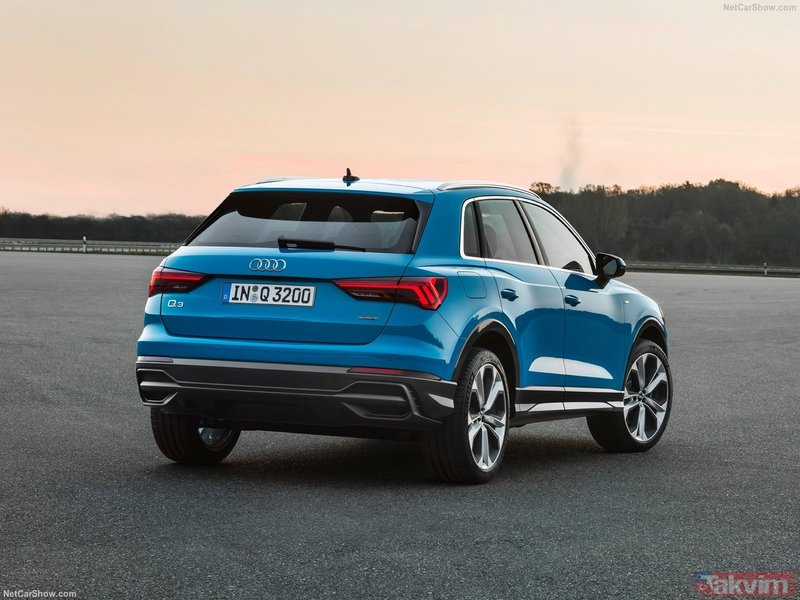2019 Audi Q3 yeni yüzünü gösterdi