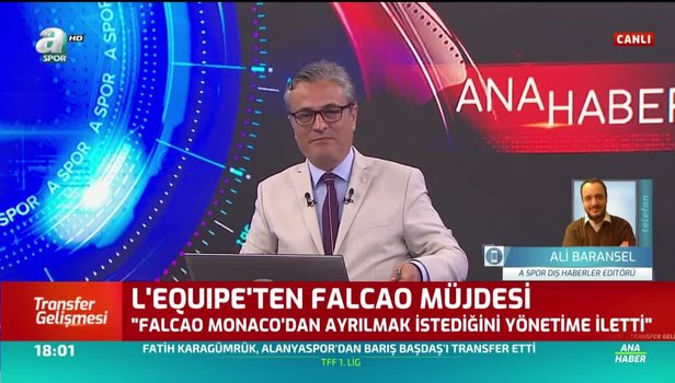 Falcao transferini Fransızlar duyurdu! Adım adım Galatasaray'a...