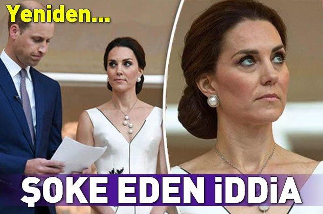 Kate Middleton hakkında şoke eden iddia!