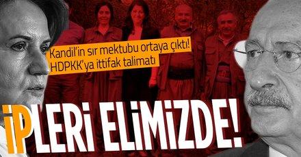 Kandil'den terörün siyasi ayağı HDP'ye ittifak talimatı! CHP ve İyi Parti'ye tehdit: Biz olmadan yapamazlar