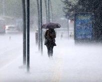 Kuvvetli yağış ve rüzgara dikkat