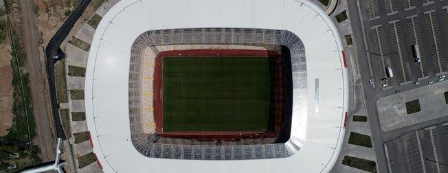 Yeni 4 Eylül Stadyumu Akhisarspor - Galatasaray maçına hazır!