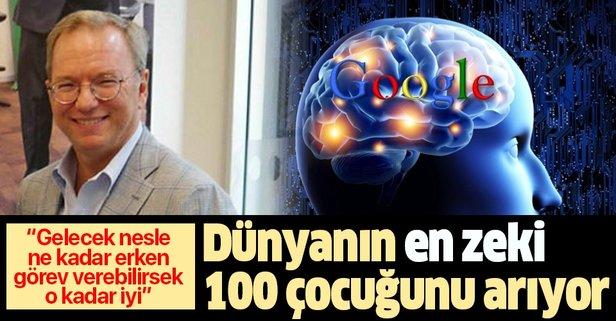 Dünyanın en zeki 100 çocuğunu arıyor