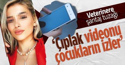 Veterinere çıplak video ve fotoğraflı şantaj